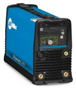 Miller Electric 907537 Tig Welder Dynasty 280 With Cps Series 208 To 575vac