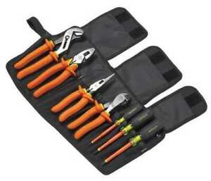Greenlee 0159 01 ins Insulated Tool Set 7 Pc