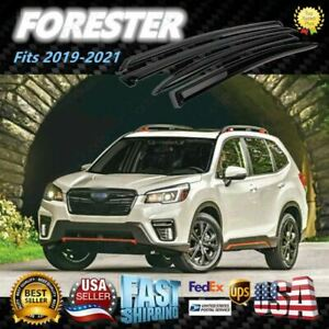 For Subaru Forester 2019 2021 Window Visor Vent Rain Sun Guard Deflectors Jdm