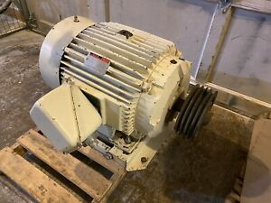 30 Hp Ac Motor Reliance Electric Duty Master