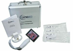 Laryngoscope Hd Video For Airway Intubation Capnovision W Disposable Blade Kit