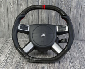 Dodge Charger Challenger Magnum Custom Carbon Steering Wheel 05 10 Rt Srt8 300c