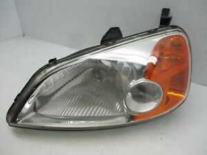 Oem 2001 2002 2003 2004 Honda Civic Sedan Left Headlight Halogen Driver Lh