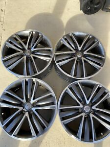 Set Of 4 Infiniti Q50 Factory Oem Wheels 19 Inch