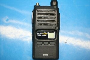 Lot Of 8 Bearcom Bc10 Two way Uhf Radio z11 12