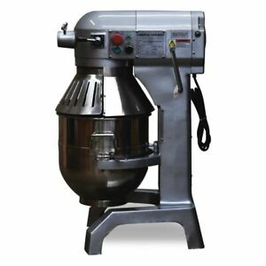 3 Speed 30qt Commercial Dough Food Mixer Gear Driven Pizza Bakery 1200w new