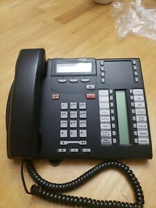 Nortel T7316e Business Phone Office Telephone Charcoal Free Shipping