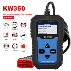 For Vw Audi Car Airbag Abs Brake System Gearbox Engine Diagnostic Scanner Kw350
