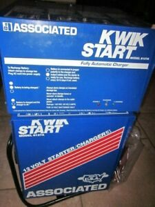 Associated Equipment 6127 A 6127a Wheeled Battery Charger Automatic Recondition
