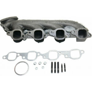 For Gmc Sierra 2500 Hd Exhaust Manifold 2001 2006 Passenger 8 Cyl 8 1l Engine