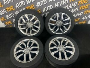 18 Nissan 370z Factory Oem Wheels rims Staggered