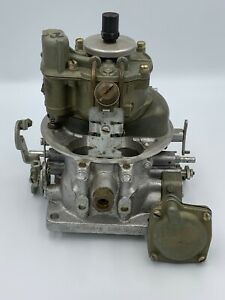 1955 Ford Mercury Original Holley 4v Carburetor Eck 9510 v