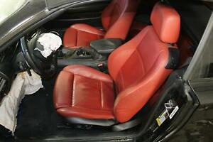 2008 12 Bmw 135i Convertible Electric Sport Driver Leather Left Front Seat Oem