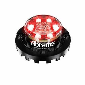 Blaster Emergency Vehicle Led Hideaway Surface Mount Strobe Warning Light Red