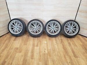 07 13 Oem Bmw E90 E92 E93 Sport Wheels R18 8j 8 5j V Spoke Style 342 Set