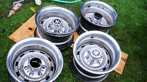 4 Wheels 1967 87 Chevrolet Or Gmc Truck 15 X 8 Steel Rally Wheel 6 Lug As Is
