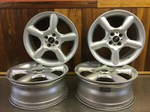 Mini Cooper 2007 14 Clubman 17 Wheel Set 4 6777960 Silver 17e2 X 7j