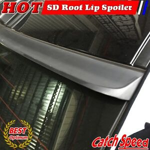 Flat Black 194 Sd Type Rear Roof Spoiler Wing For 2004 2007 Cadillac Cts v Sedan