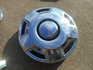 Ford Dog Dish Cap Hubcap Front 12 1978 To 1991 Truck F250 Vintage Wheel Cover