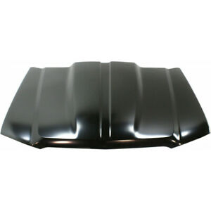 For Chevy Silverado 2500 Hd Hood 2003 2004 Steel Primed Dot Sae Compliance