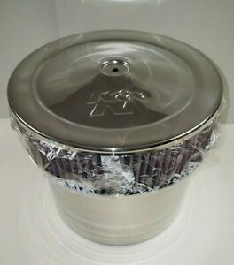 K n Air Cleaner Chrome Velocity Stack Assembly 58 1200