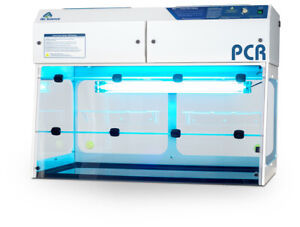 Pcr Workstation 48 Wide Clean Bench Laminar Flow Brand New Pcr 48