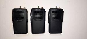 3x Relm Rpv3000a Portable Radios Vhf 150 174mhz 16h 5w Works