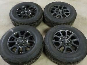 2020 Toyota Tundra Trd Pro 18x8 Factory Wheels And Michelin Ltx 275 65r18 Tires
