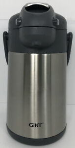 Coffee Airpot Thermal Carafe Dispenser With Pump Stainless Steel Vacuum 2 2l