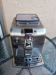 Saeco Syntia HD8837 Super Automatic Espresso Machine Stainless Steel $470.00