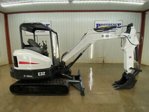 2012 Bobcat E32 Hst Compact Track Excavator Orops