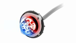 Red blue Emergency Vehicle 6 Led Hideaway Surface Mount Strobe Warning Light