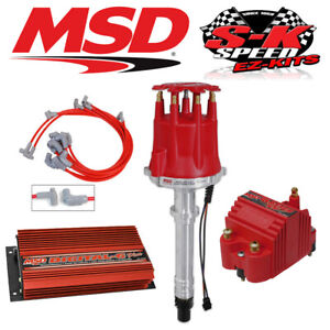 Msd 9500 Ignition Kit Digital 6 Plus Distributor Wires Coil Small Block Chevy