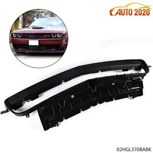Front Grille Grill Black Lower Reinforcement For 2015 2018 Dodge Challenger