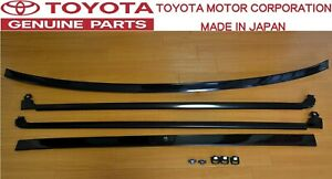 Toyota Genuine Oem Jza70 Supra Mk3 Rear Rear Grass Windshield Molding Set Jdm