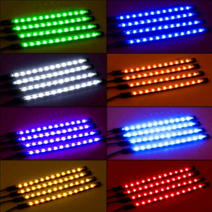 Rgb Led Colorful Glow Car Interior Lamp Under Dash Footwell Seats Inside Light