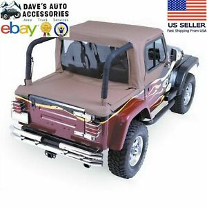Rampage Spice Cab Soft Top And Tonneau Cover Fit s Jeep Wrangler Yj 1986 1995
