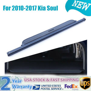 For 2010 2011 2012 2013 2017 Kia Soul Trunk Cargo Cover Luggage Security Shade