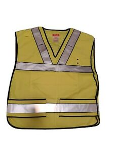 5 11 Tactical 49001 Ansi I High Viz Traffic Vest New