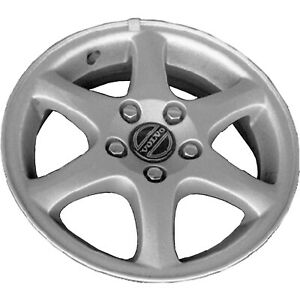 98 99 00 Volvo V70 15x6 5 Factory Oem 6 Spoke Silver Wheel Rim