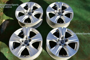 17 Toyota Rav4 Oem Factory Wheels 2019 2020 2021 5x114 4261b0r240
