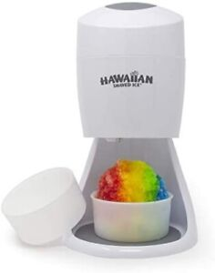Hawaiian Shaved Ice S900a Shaved Ice And Snow Cone Machine 120v White
