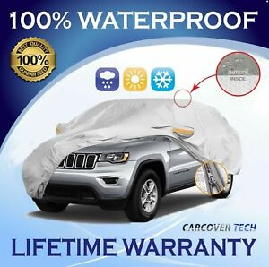 100 Weatherproof Full Suv Cover For Jeep Grand Cherokee 2005 2021