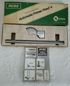 RCBS Reloading Automatic Primer Feed Excellent Condition Omark Precision $85.99