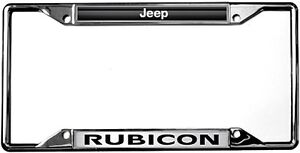 New Jeep Rubicon License Plate Frame