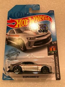 2020 18 Copo Camaro Ss Silver Hot Wheels Factory Sealed