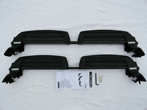 Thule Snowcat 5401 Rooftop Ski Snowboard Rack Carrier Free Shipping