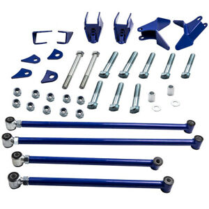Triangulated 4 Link Kit Suspension Drag For Chevrolet S10 1994 2004 1997