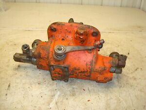 1958 Case 801b Tractor Hydraulic Pump Valve Assembly 800