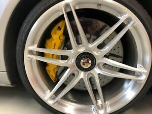 Porsche Hre Wheel And Tire Set 21 Inch Diameter As New Condition 12k Set